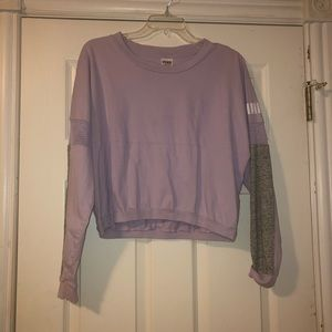 Pink Victoria's Secret Purple Shirt